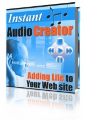 Product picture Instant Audio Creator