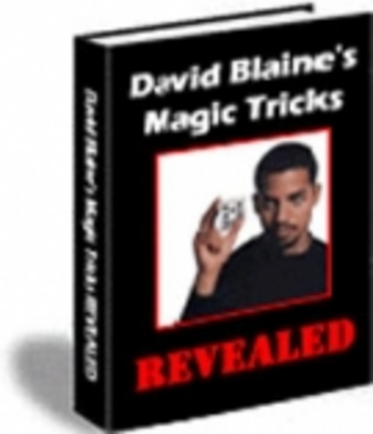 Product picture David Blaine Magic Tricks Revealed