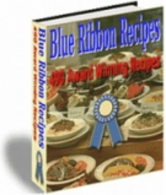 Product picture Blue Ribbon Recipes