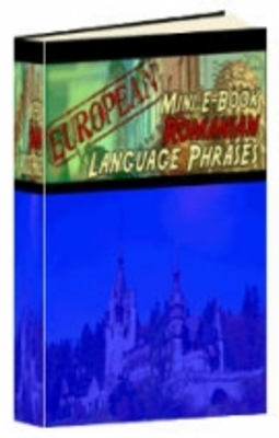 Product picture European Mini E-Book Romanian Language Phrases