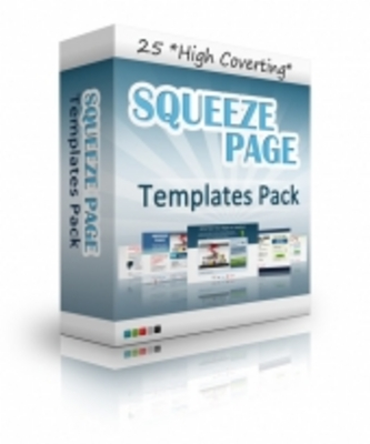 Product picture 25 Squeeze Page Templates
