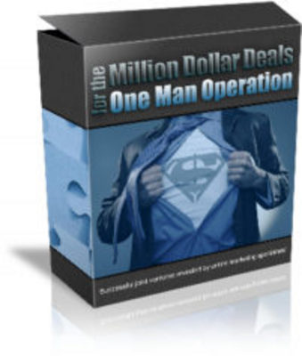 Product picture Million Dollar Deal *NEW* - One Man Operation!
