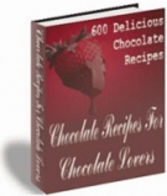 Product picture 600 Delicious Chocolate Recipes
